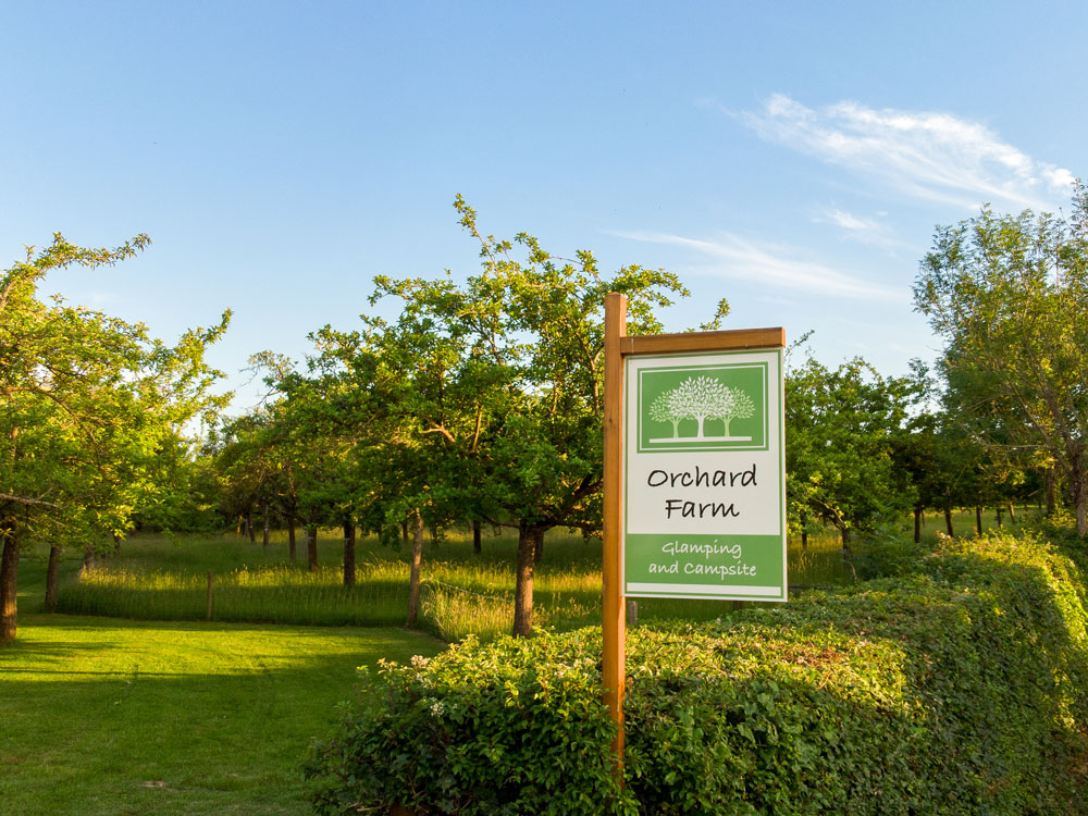 Orchard Farm Sign