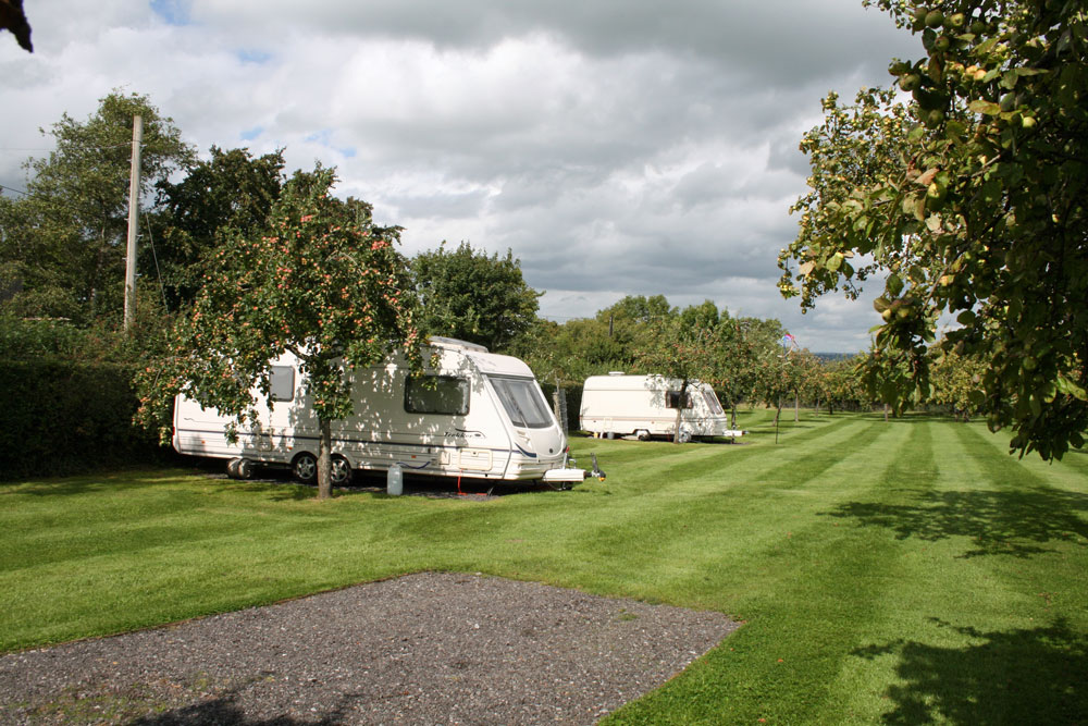 Caravan and Motorhome Camping